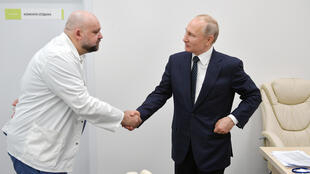 Russie CORONAVIRUS RUSSIA Poutine hopital Moscou