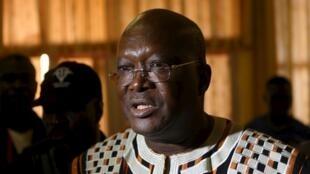 Le nouveau président élu, Roch Marc Christian Kaboré.