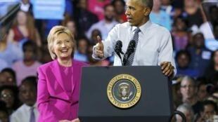 L'ancienne secrétaire d'Etat Hillary Clinton et l'ancien président Barack Obama ont été visés par des colis suspects.