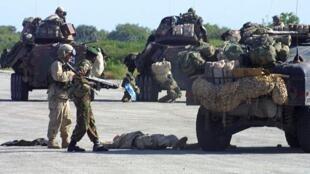 Des soldats américains déployés au Kenya (photo d'illustration)