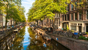 Amsterdam, Bloemgracht, le canal aux fleurs (photo d'illustration).