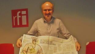 Eric Fottorino, promoteur de l'hebdomadaire «Le 1».