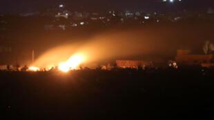 3月3日,炮火向伊斯蘭國最後的據點--巴胡茲村傾灑。