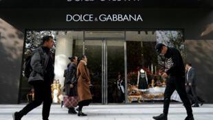 Бутик Dolce & Gabbana в Шанхае