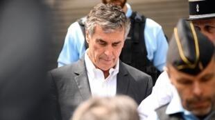 Жером Каюзак в парижском Дворце правосудия, 15 мая 2018.