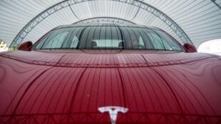 La Tesla Model 3, en Virginie le 22 juillet 2019.