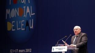 Михаил Горбачев выступил с речью на Всемирном форуме, посвященном воде. Марсель 12/03/2012