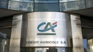 Crédit Agricole's headquarters in Paris