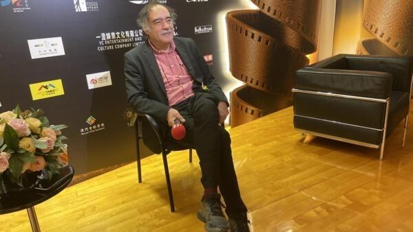 Produtor português Paulo Branco no Festival de cinema de Macau a 6 de Dezembro de 2019.