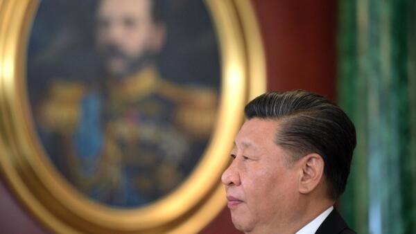 中國國家主席習近平6月5日在克里姆林宮