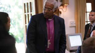 Forest Whitaker joue le rôle de Desmond Tutu dans le film «Forgiven», de Roland Joffé.