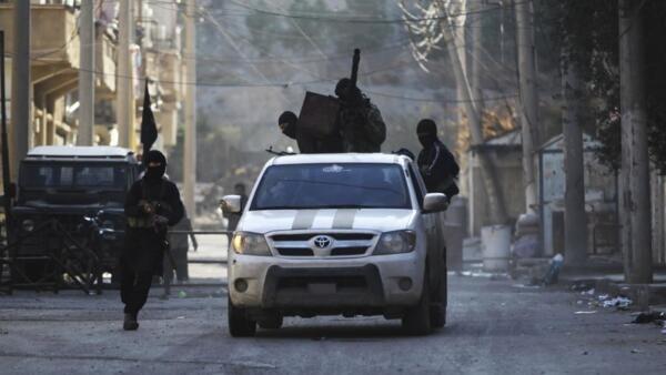 Members of the Al-Qaeda-affiliated al-Nusra Front in Deir Ezzor last year
