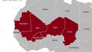 Kasashen yankin Sahel