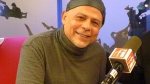 Ariel Prat en los estudios de RFI