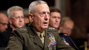 El general retirado James Mattis el 27 de julio de 2010 en Washington.