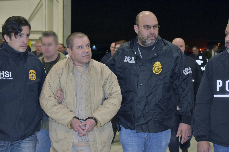 17/07/19- Narcotraficante mexicano El Chapo é condenado à prisão perpétua