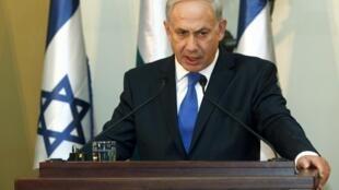 O primeiro-ministro israelense, Benjamin Netanyahu, ameaçou novamente nesta terça-feira atacar o Irã sem o aval dos Estados Unidos.