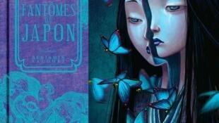 Couverture du livre de Benjamin Lacombe «Histoires de fantômes du Japon»