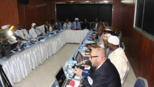 Réunis en Mauritanie, les oulémas, imams et prêcheurs des pays du Sahel proposent aux États de nouvelles méthodes d'enseignement d'un islam modéré dans les écoles républicaines pour contrecarrer l'extrémisme et l'intolérance, Nouakchott, 12/09/2019.