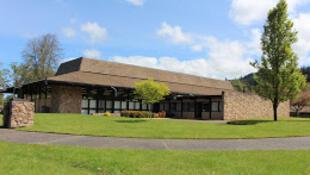 Campus da Umpqua Community College (UCC),  no Oregon, onde um tiroteio matou pelo menos dez pessoas. er octobre 2015