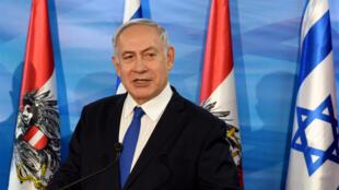 Le Premier ministre israélien Benjamin Netanyahu, à Jérusalem, le 5 février 2019.