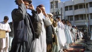 Des microgroupes ont pour objectif de déstabiliser le pouvoir dans le territoire sunnite en Irak. Ici, des sunnites iraniens dans le Sistan-et-Baloutchistan, en 2001.