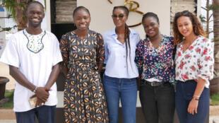 Djibril Niang, Estelle Ndour, Diara Ndiaye, Aïssatou Diouf, Kessen Ndour.