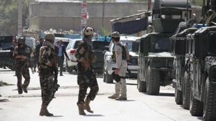 یک کاروان  نیروهای امنیتی  افغانستان، هدف حمله مسلحانه مخالفین مسلح نظام در ولایت قندهار قرار گرفت