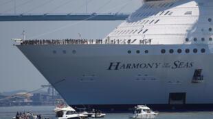 Круизный лайнер Harmony of the Seas является самым большим в мире