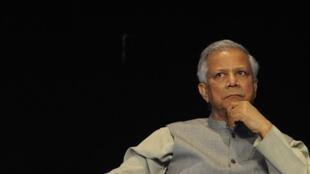 Grameen Bank founder Mohammad Yunus.