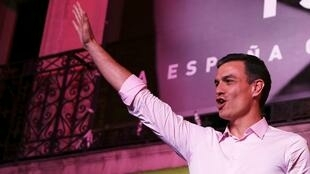 Pedro Sanchez, líder do PSOE.