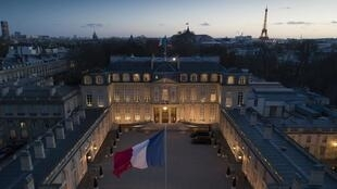 Le palais de l'Élysée, à Paris. (Illustration)
