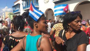 Santiago de Cuba, durante los pasados funerales de Fidel Castro.