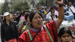 En agosto pasado, los docentes ya estaban manifestando su descontento en las calles de la Ciudad de México.