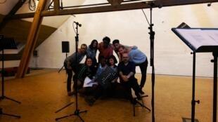 Aminata Abdoulaye, Romain Cinter, Clémentine Coutant, Thomas Dubot, Pierre Gervais, Sarah Grin, Eline Schumacher, Aymeric Trionfo.