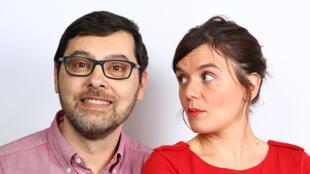 Ludovic Dunod et Céline Develay-Mazurelle.