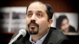 علی افشاری، فعال و تحلیلگر سیاسی در واشنگتن