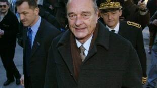 Жак Ширак, февраль 2002 г.