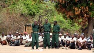 Soldados da Renamo a serem integrados no exército nacional são os de Gorongosa