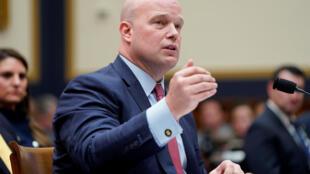 Le ministre américain de la Justice par intérim, Matthew Whitaker, vendredi 8 février 2019, devant une commission du Congrès, à Washington.