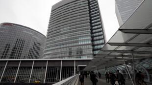 Trụ sở chính của tập đoàn Nissan Motor Co.'s ở Yokohama, Nhật Bản, 22/11/2018.