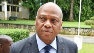 Jean Claude Brou, Presidente da comissão da CEDEAO de visita à Guiné Bissau.