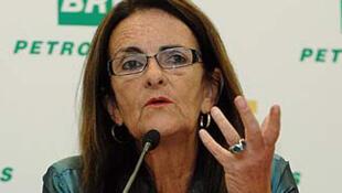 Maria das Graças Foster, nova presidente da Petrobras.