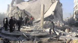 Aleppo on 23 December, 2013