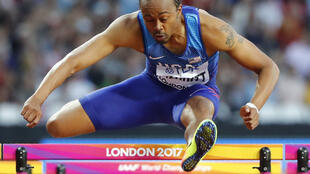 Aries Merritt won gold at the London Olympics in 2012 but has been unable to return to those heights.
