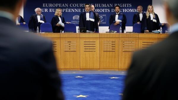 11 сентября. Судьи Большой палаты ЕСПЧ перед началом рассмотрения иска Украиы против России