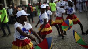 Défilé lors du Carnaval national 2018.