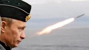 (Ảnh minh họa) - Tổng thống Vladimir Putin hồi tháng 03/2018 lần đầu tiên thông báo Nga đã chế tạo được tên lửa Kinjal.