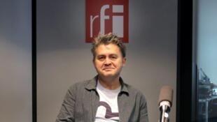 L'écrivain français Stéphane Audeguy.