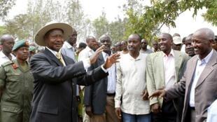 Ugandan President Yoweri Museveni, February 2011